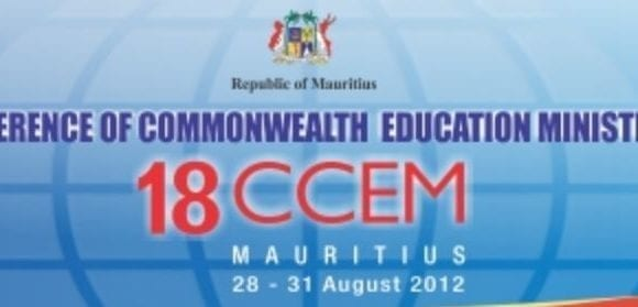 18th Conference of Commonwealth Education Ministers (18CCEM) August 2012