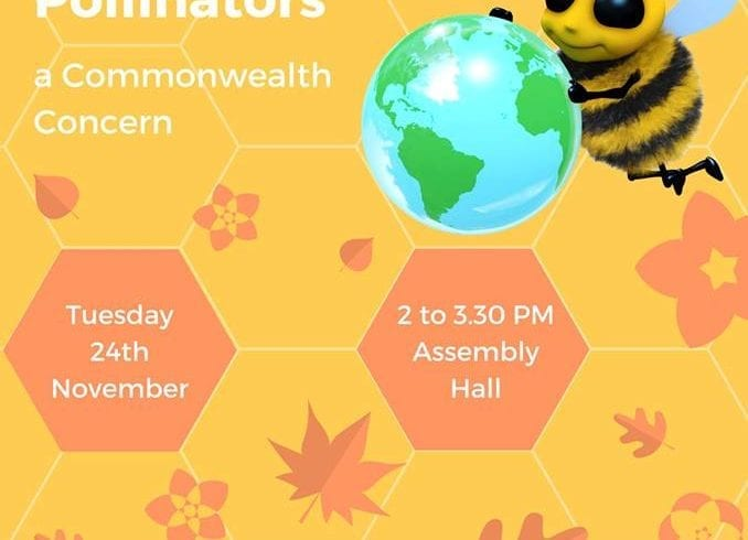 Launch of CHEC/Friends of the Earth Report – Bees and Pollinators – A Commonwealth Concern