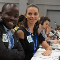 CHEC Member, James Propa at the UN-CBD COP13 & The Youth & Business Forum in Cancun Mexico
