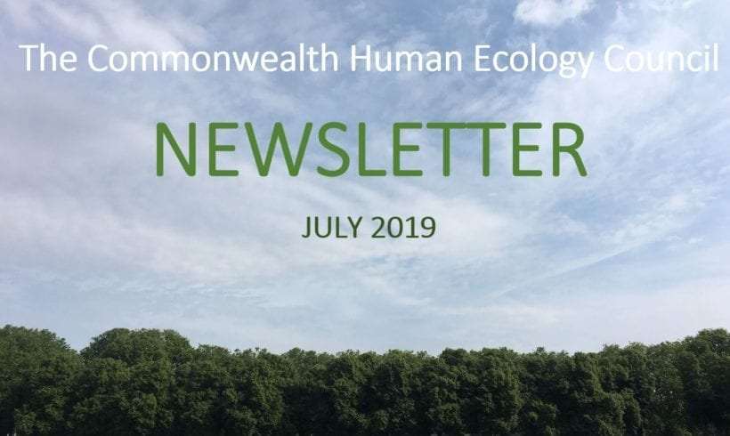 The Commonwealth Human Ecology Council Newsletter – July 2019