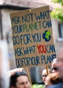 Ask not what your planet can do for you ask what you can do for your planet