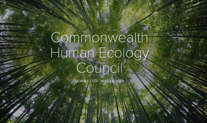 The Commonwealth Human Ecology Council Newsletter – Winter 2020