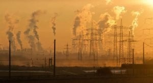 industrial pollution affecting climate change