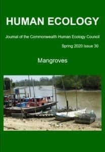 Cover Image of CHEC's journal on Mangroves