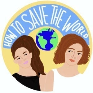 How to Save the World Podcast Logo