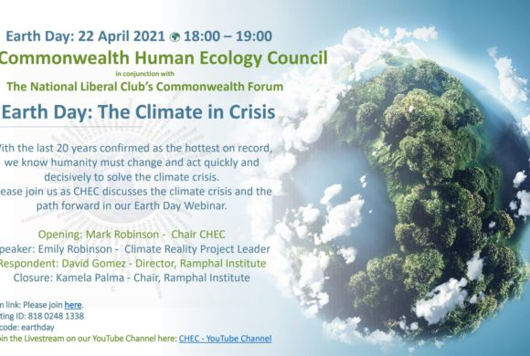 The Climate in Crisis – CHEC's Earth Day Webinar