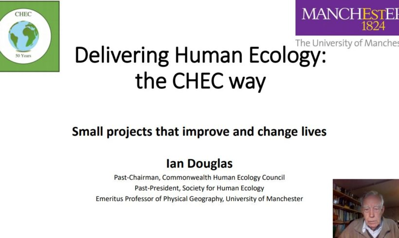 Delivering Human Ecology: The CHEC Way