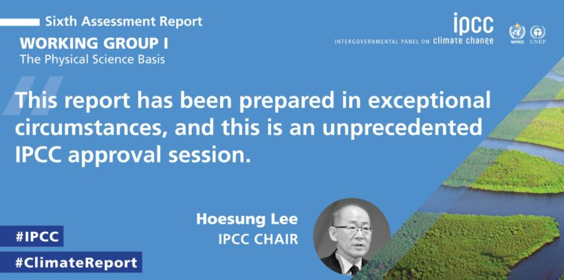 IPCC Releases Worrying Climate Change Sixth Assessment Report